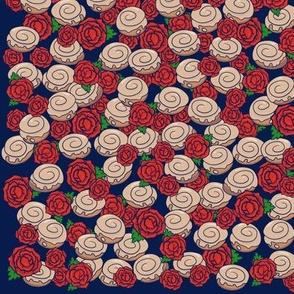Roses and Cinnamon Rolls