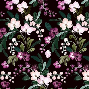 paradise bloom_Black