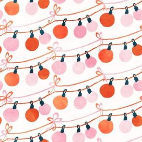 Christmas Ornaments Garland