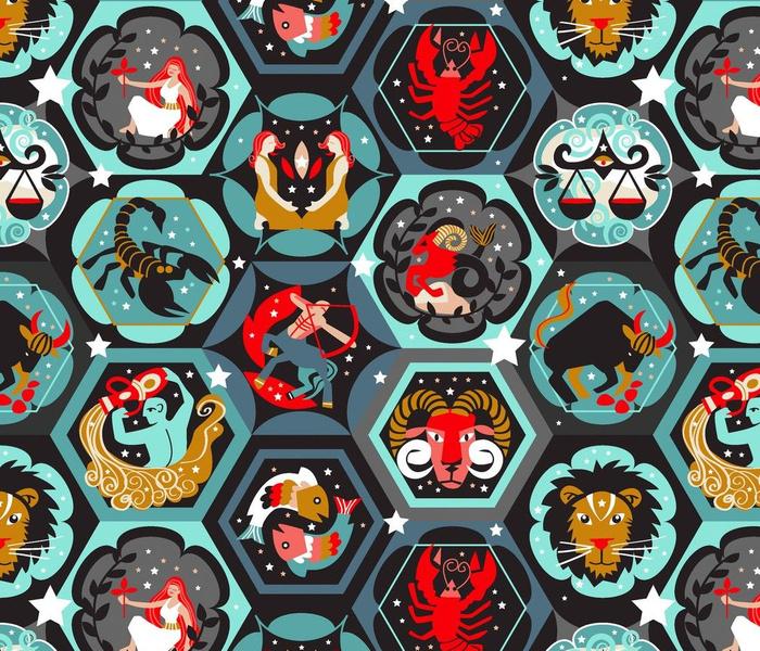 Hexagon zodiacs