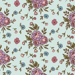 Charlotte Floral Mint