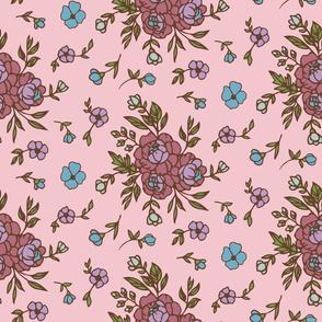 Charlotte Floral Pink