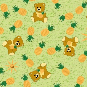 Tropical Bear - Island Green
