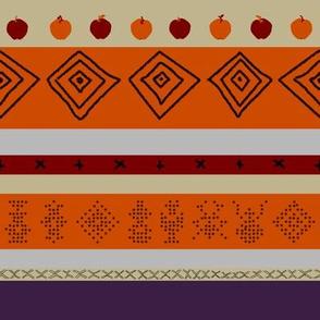 Nordic Autumn Stripe | Attic Enigma
