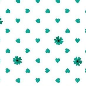 Hearts n Flowers - Jade