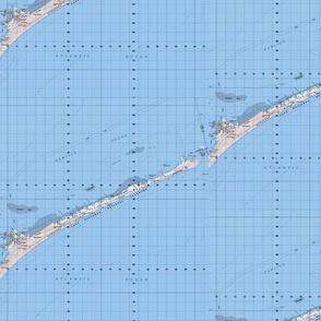 Ocracoke Island North Carolina Hatteras Map
