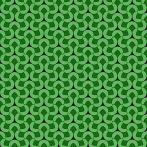 C In green