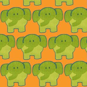 Retro elefant