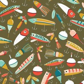 Fishing Lures Green