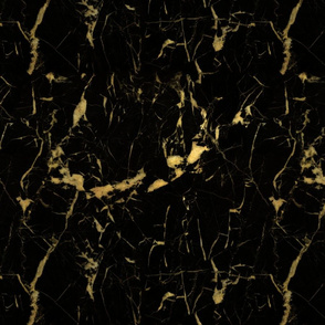 Gold Black Marble