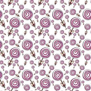 Cute Swirly Lolly Pops