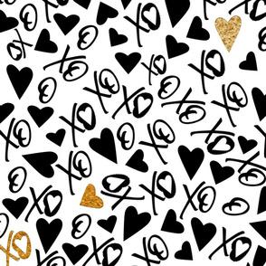 XOXO Valentine's Gold