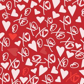 XOXO Red Valentine's