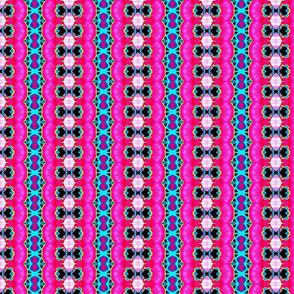 Deco Ruffles (blue and pink)