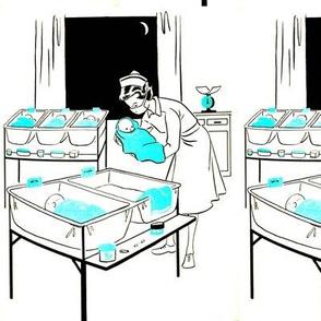 Retro Baby Nurse