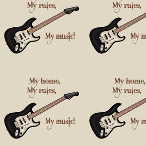 My home, my rules, my musice