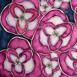 Big Bloom | Watercolor