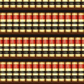 Old Law Books on Bookshelves Small / Med