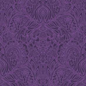 Purple Prince Paisley