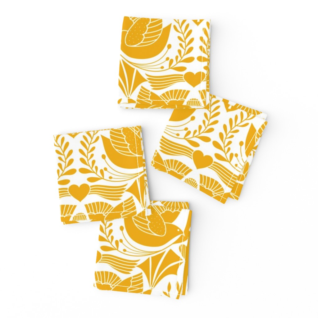 Frizzle Cocktail Napkins featuring valentine tree of life damask   by vo_aka_virginiao