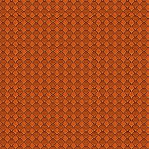 Dragon Scales - Fire Orange