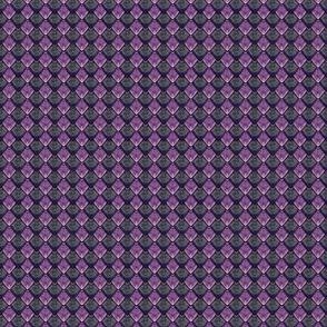 Dragon Scales - Purple and Black