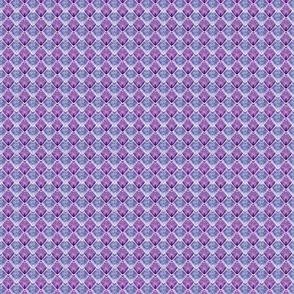 Dragon Scales - Purple White Outline