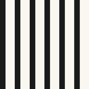 Stripe - H White, Black