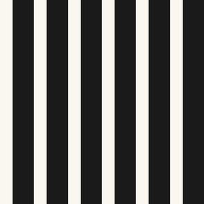 Stripe - Black, H White