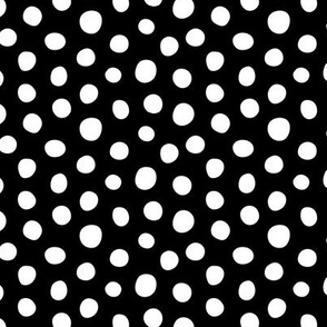 Dots - White, Black