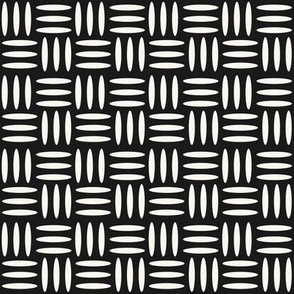 Weave - H White, Black