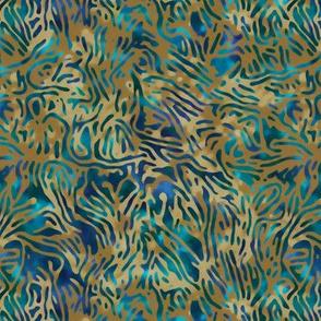 seaweed and surf batik