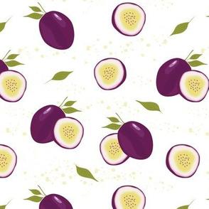 passion fruit white