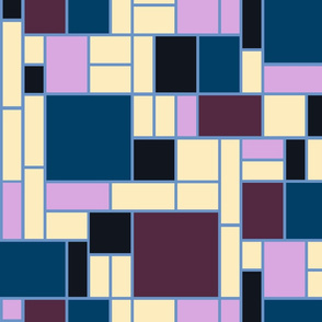 Mondrian at twilight