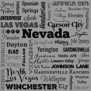 Nevada cities 2, standard gray