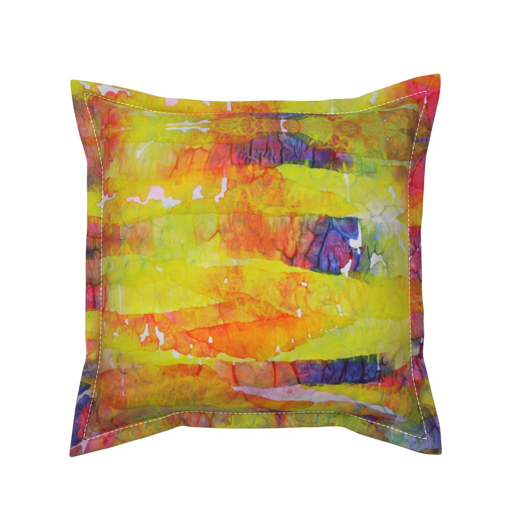 Serama Throw Pillow featuring Passion (large) by lynda_hoffman-snodgrass_