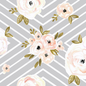 Peach Roses Mod gray rotate