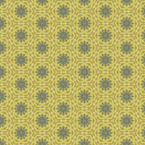Gold and Green Octagon-style pattern