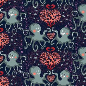 Be my underwater Valentine