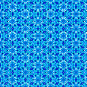 Blue Spoke Pattern