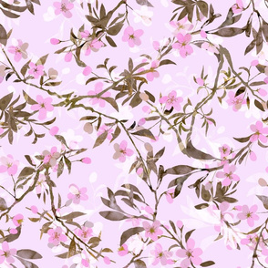 cherry-blossoms-olive-pink