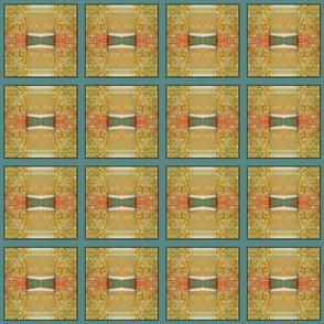 Formal Garden Golden (quilt)