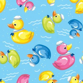 Sailor Duckies - Large