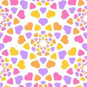 08346866 © mandala 9 hearts : sherbet