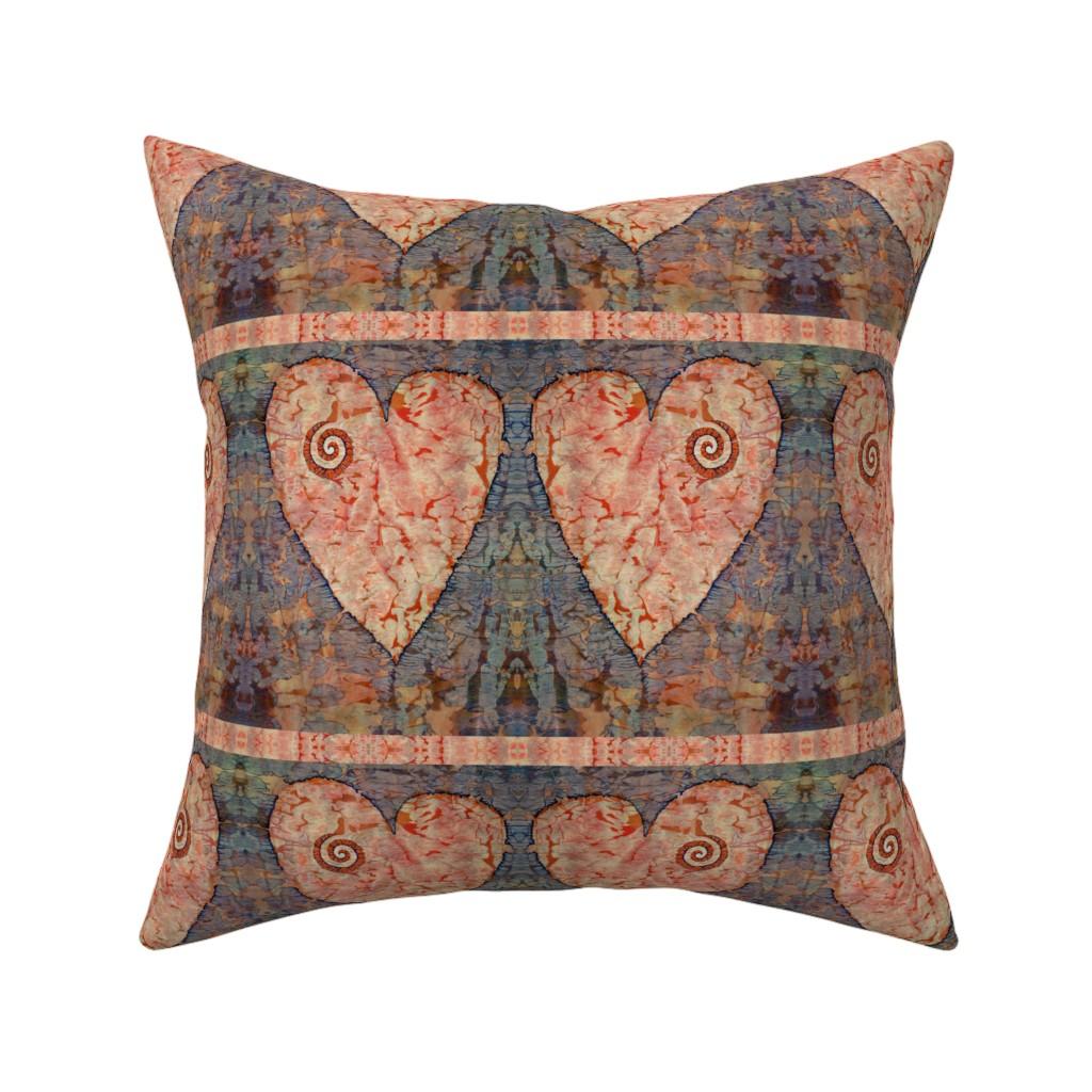 Catalan Throw Pillow featuring From The Heart (medium) by lynda_hoffman-snodgrass_
