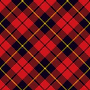 "Wallace clan tartan, diagonal 4"""