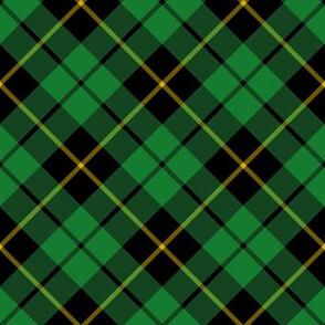 "Wallace hunting tartan, diagonal 4"""