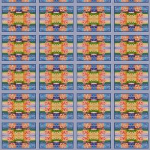 Sunshowers Orange (quilt)
