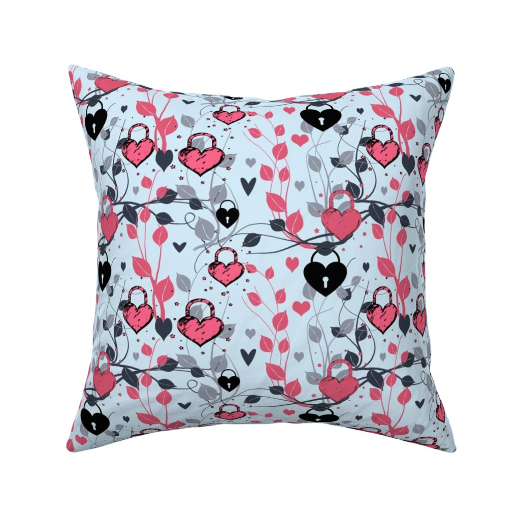 Catalan Throw Pillow featuring  For The Love Of Ivy by bluevelvet