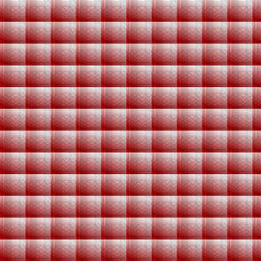 joe plaid mono red